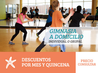 Gimnasia a domicilio Alicante Natural